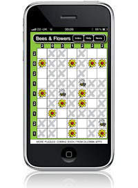 Dilemma Apps Bees and Flowers visual